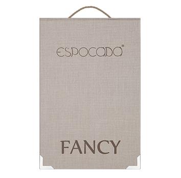 Espocada представляет негорючие ткани Fancy с фактурой натурального льна.