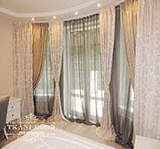 Дизайн штор в частном доме пос. Малаховка