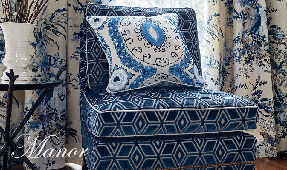 Коллекция заказных тканей Anna French