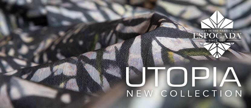 Коллекция тканей Utopia - Espocada