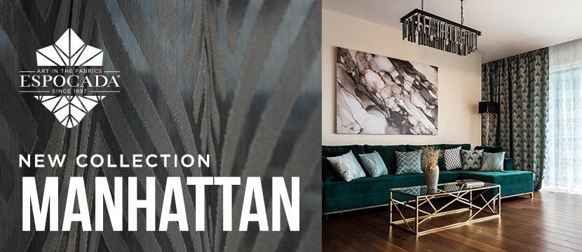 Коллекция тканей Manhattan - Espocada