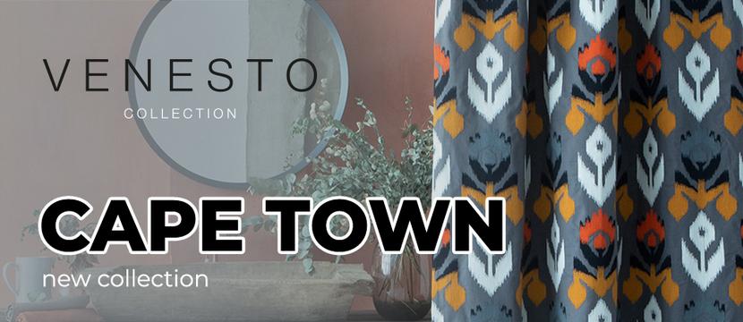 Коллекция тканей Cape Town / Venesto Collection