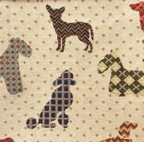 Galleria Arben - Ткань Dogs Beige