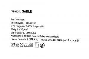 Sable Foam