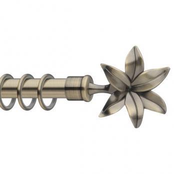Карниз «Цветок» / «золото антик»
