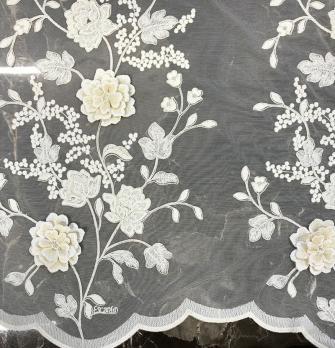 Ткань Handcraftedflowers 1 - Galleria Arben / Галерея Арбен