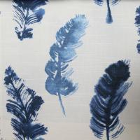 Ткань Feather Fall Indigo - Galleria Arben / Галерея Арбен