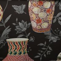 Ткань Imperial Garden Chestnut - Galleria Arben / Галерея Арбен
