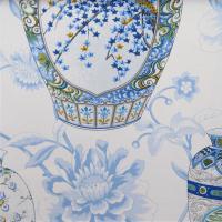 Ткань Imperial Garden China Blue - Galleria Arben / Галерея Арбен