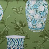 Ткань Imperial Garden Jade - Galleria Arben / Галерея Арбен