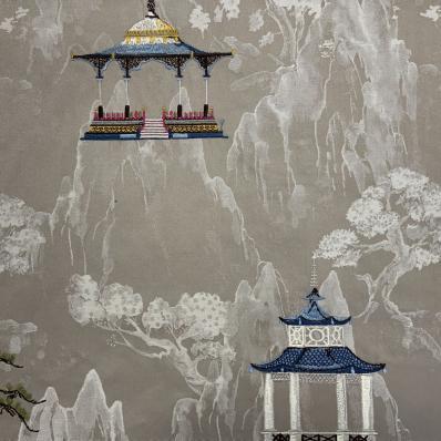 Ткань Imperial Palace Tea Stain - Galleria Arben / Галерея Арбен