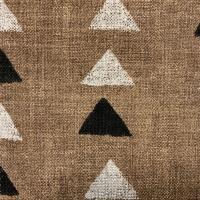 Ткань Nomadic Triangle Clay - Galleria Arben / Галерея Арбен